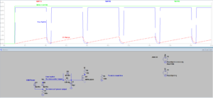 Simple RC Microcontroller User Reset Circuit with Discharge Diode (LT Spice Simulation)