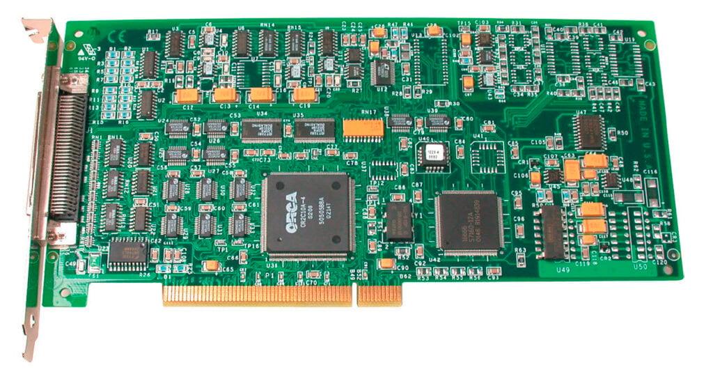 PCI DATA ACQUISITION image